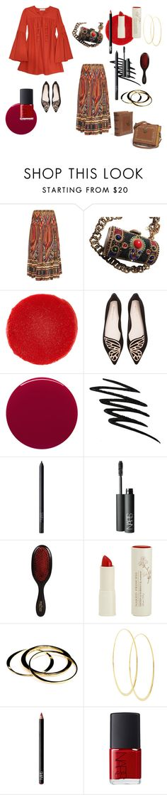 """""""Moroccan butterfly"""" by alisafranklin on Polyvore featuring Rachel Zoe, Camilla, Christian Louboutin, Sophia Webster, Smith & Cult, Smashbox, NARS Cosmetics, Mason Pearson, Naked Princess and Janna Conner"""