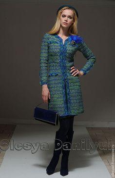 Пальто «Твидовая классика» – купить или заказать в интернет-магазине на Ярмарке Мастеров | Это пальто родилось под влиянием великих…