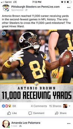 7b37dbcad Antonio Brown, Odell Beckham Jr, Steeler Nation, Pittsburgh Steelers, Bad  Boys,