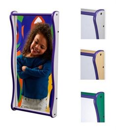 Medium Funhouse Faces Giant Giggle Wall Mirror -Waiting Rooms Toys-Doctor's office toys