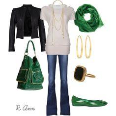 Like the shirt, plus green