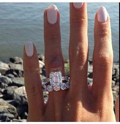 Beautiful Engagement Ring and Wedding Band