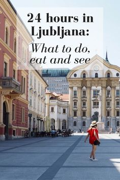 24 Hours in Ljubljana: What to do, eat and see // Click through to read the whole post! www.girlxdeparture.com