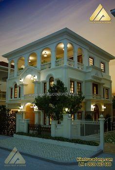 Mẫu nhà đẹp biệt thự phong cách tân cổ điển http://www.kientrucadong.com/thiet-ke-mau-nha-dep-biet-thu-tan-co-dien-tp-tuyen-quang-669-101.html