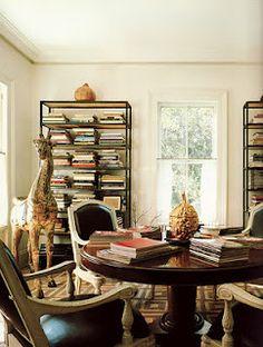 Study room by Bunny Williams via Nick Olsen's blog