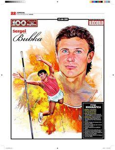 100 Leyendas del Deporte / 100 Sports Legends on Behance