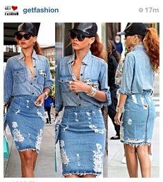 Need a denim skirt
