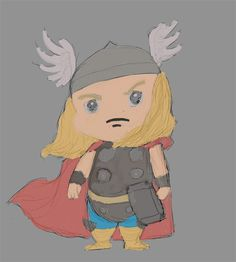 Thor XD (654 x 727) by Jesterius85.deviantart.com on @DeviantArt Princess Zelda, Disney Princess, Thor, Disney Characters, Fictional Characters, Aurora Sleeping Beauty, Digital Art, Fantasy Characters, Disney Princes
