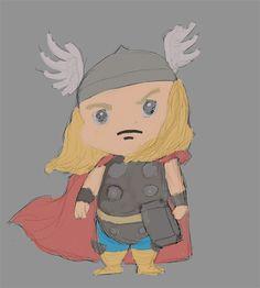 Thor XD (654 x 727) by Jesterius85.deviantart.com on @DeviantArt