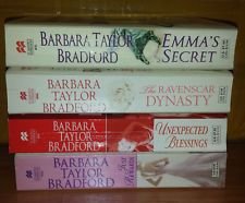 Lot of 4 Barbara Taylor Bradford novels - Excellent condition