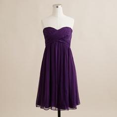Taryn dress in silk chiffon - i get to wear this gorgeous dress next summer when my twinsie BFF Kait gets married!!!