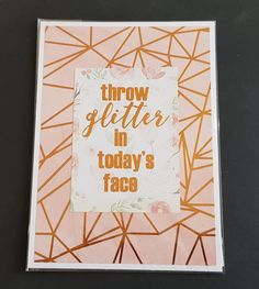 Glitter, Cover, Face, Paper Mill, Invitation Cards, Invitations, Handmade, Faces, Blankets