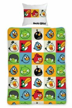 Angry Birds Duvet Cover Set: Amazon.co.uk: Kitchen & Home