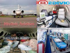 Medivic Aviation Air Ambulance Services from Ranchi,Guwahati,Delhi Mumbai Chennai Kolkata Patna: Advance Cardiac Life Support (ACLS), Doctors Facil...