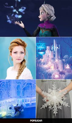 Disney's Frozen wedding and bridal shower party ideas!