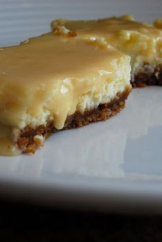Caramel Cheesecake bars - Oh My!
