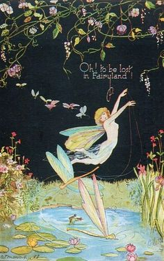 Oh to be lost in fairylandthis is not by Margaret Clark. federationfairies