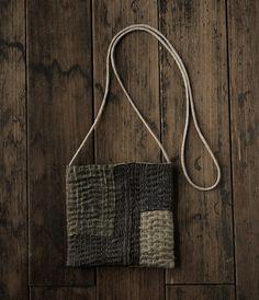 stitched little bag (analogue life)