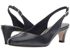 22eb9eb485d Walking Cradles Jolly Women s 1-2 inch heel Shoes Navy Leather