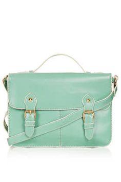 Edge Paint Satchel - Bags & Wallets  - Bags & Accessories