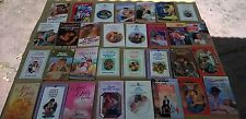 Lot of 31 Mixed 80's & 90's Harlequin Silhouette Dell Cadlelight Romance Novels