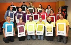 Happy Halloween from the Pantones (aka the Louisville Studio features/non-daily team)!