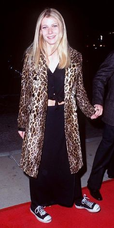 90's GP. Leopard Coat + Cons
