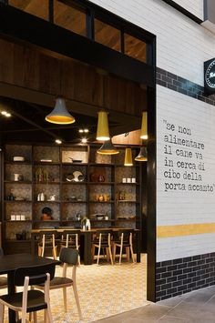 Rozzi's Italian Canteen by Mim Design // Melbourne.Yellowtrace.