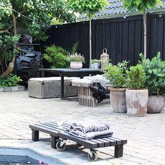 My patio at home / SKOVBON