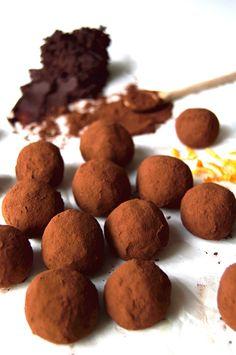 Easy Vegan Orange Chocolate Truffles