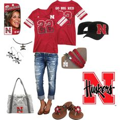Husker Game Day!!  Just ordered tickets- must mean football season is right around the corner! Yay!!