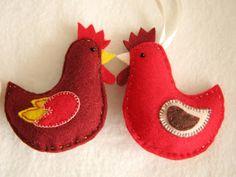 Z całego serca ...: Fotokurs - filcowa kura