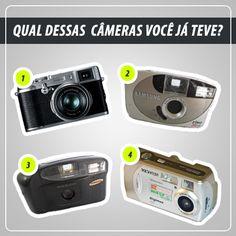 Qual dessas câmeras você já teve? #Fotografia