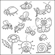 10 Insects Coloring Pages ideas | insect coloring pages, animal coloring  pages, coloring pages