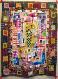 Madder Plaids by Margaret Fabrizio, 2014.