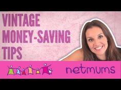 Vintage Money Saving Tips - Sarah Willingham - #netmums #YouTube #frugal #money #saving #budget