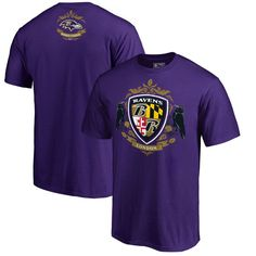 Baltimore Ravens Fanatics Branded International Series London T-Shirt - Purple https://www.fanprint.com/licenses/baltimore-ravens?ref=5750
