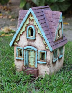 Lucy's House | Harry Tanner Design Little Clay House illuminated sculpture
