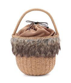 ROPE' PICNIC(ロペピクニック)のかごバッグ「ペーパー/ファー バケツバスケット」のカラーやサイズごとの在庫、セール情報のページです。