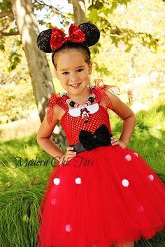 Items similar to Minnie Mouse Tutu Dress & Ears 18 months on Etsy Mouse Costume, Tutu Costumes, Disney Costumes, Halloween Costumes, Halloween Ideas, Fairy Costumes, Disney Cosplay, Costume Ideas, Birthday Tutu