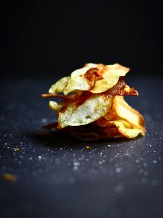 Homemade Baked Salt and Vinegar Chips - The Talking Kitchen - The Talking Kitchen