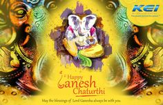 KEI Industries Wishes You!! !!!...Happy Ganesh Chaturthi...!!! May the blessings of Lord Ganesha always be with You!!