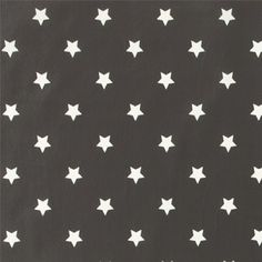 Voksduk grå m hvite stjerner