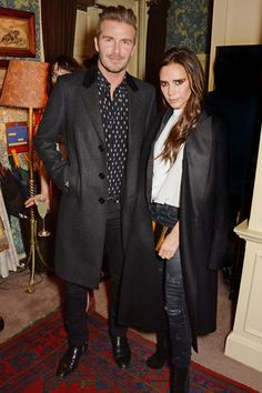 Best dressed - David and Victoria Beckham