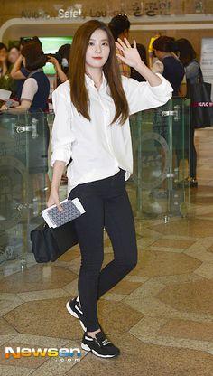 Red Velvet Seulgi Airport Fashion 150725 2015 Kpop