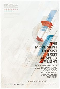 Great typography with shapes. A lot of movement in the poster