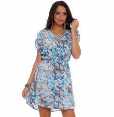 Vestido estampado Marisa -http://www.cashola.com.br/blog/moda/vestidos-de-verao-para-todos-os-tipos-de-corpos-402