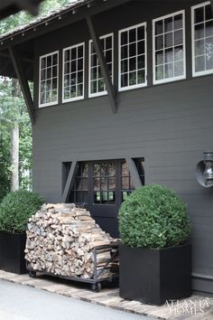Nice 24 Stylish Home Black and White Exterior Design https://ideacoration.co/2017/11/20/24-stylish-home-black-white-exterior-design/ In case the paint should go lighter, you may add some white paint in modest quantities. Overall, with the understanding that it will not last forever and will need to be redone some time in the future,