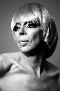 Transformation — David Hoyle by Lee Baxter