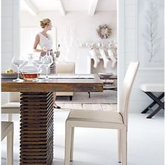 Paloma Dining Table in Dining Tables | Crate and Barrel